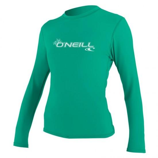 Дамска ликра O'Neill WOMENS BASIC SKINS L/S seaglass