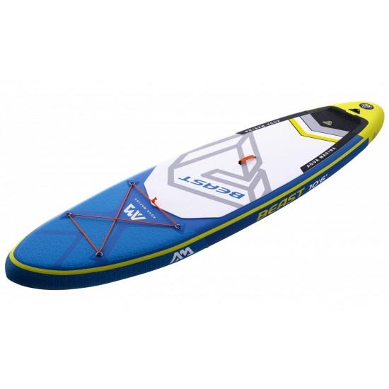 надуваем SUP Aqua Marina Beast 10 6 с  Aqua Marina SPORTS III гребло 2020