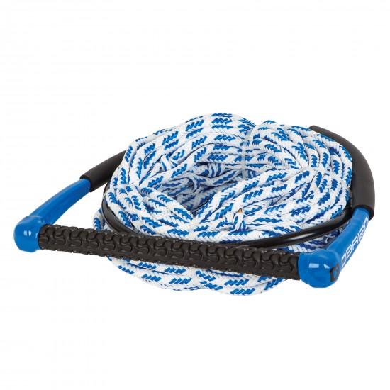 Уейкборд въже с плаваща дръжка O`Brien 4-Section Poly-E