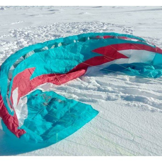 "Cноукайт урок за начинаещи на Витоша ""Kite2go - Taste the snow"" с трейнер кайт"